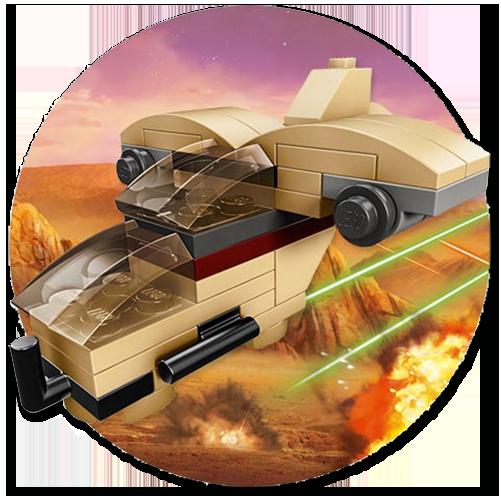 Lego TRU Wookiee Gunship May the 4th 2015