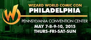 Philadelphia Comic Con 2015 Logo