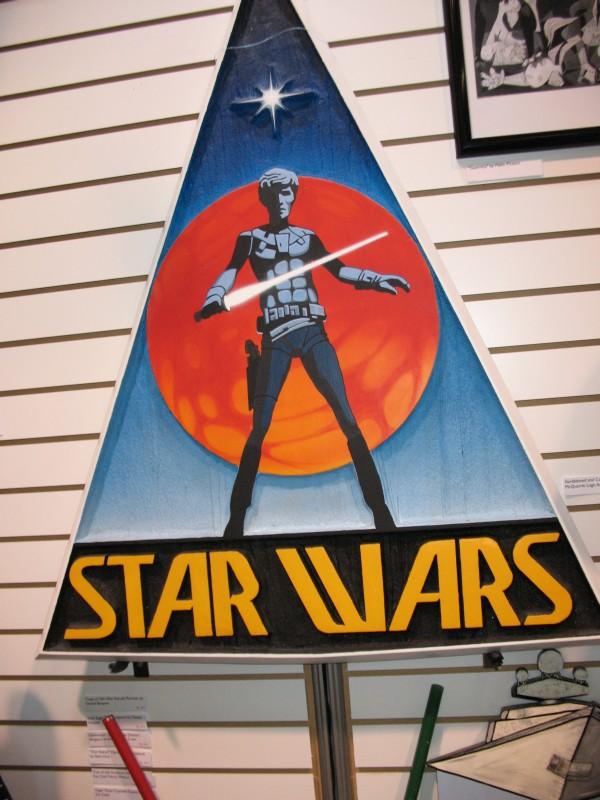 Rancho Obi-Wan Star Wars Wood Carving