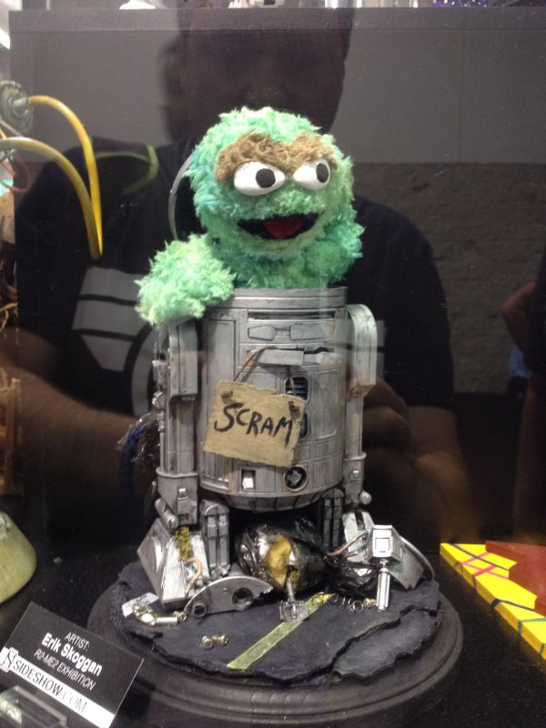 Sideshow R2-ME2 Oscar the Grouch