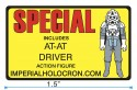 Special Action Figure SWCA Pin