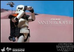 Hot Toys Sideshow Sandtrooper
