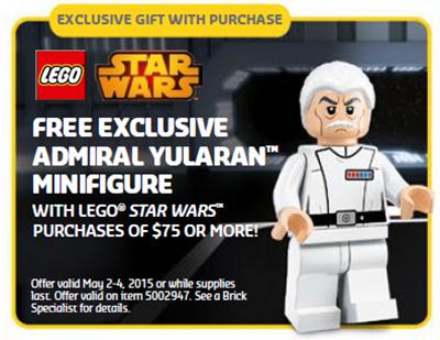 Lego Admiral Yularen May 4th 2015