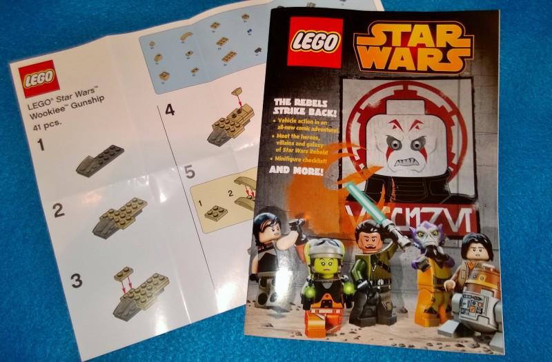May 4th 2015 TRU Lego Wookiee Gunship instructions