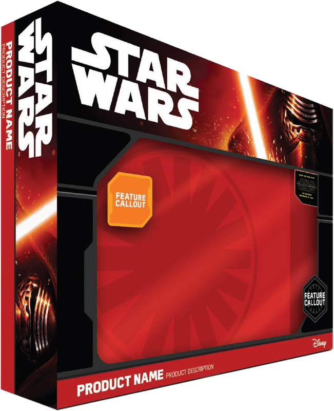 Star Wars 2015 The Force Awakens Packaging