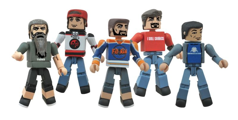 Comic Book Men Minimates