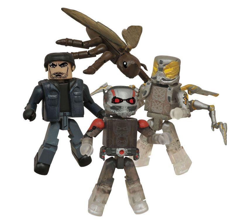 DST SDCC 2015 Ant-Man Set Minimates