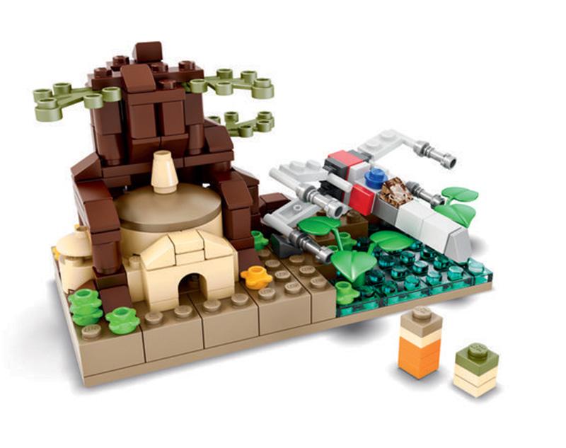 Lego SDCC 2015 Dagobah