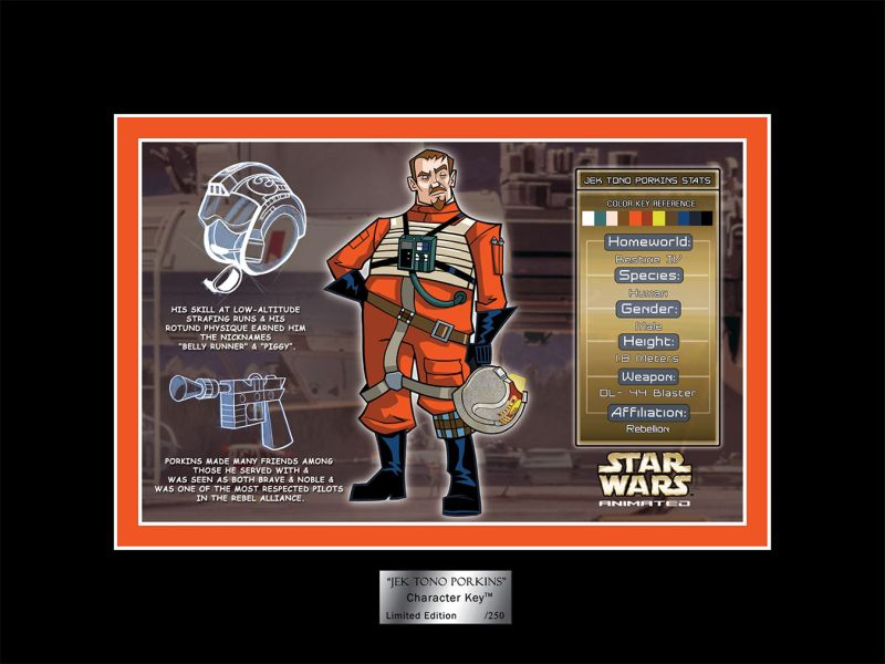 Acme Archives SDCC Porkins Character Key