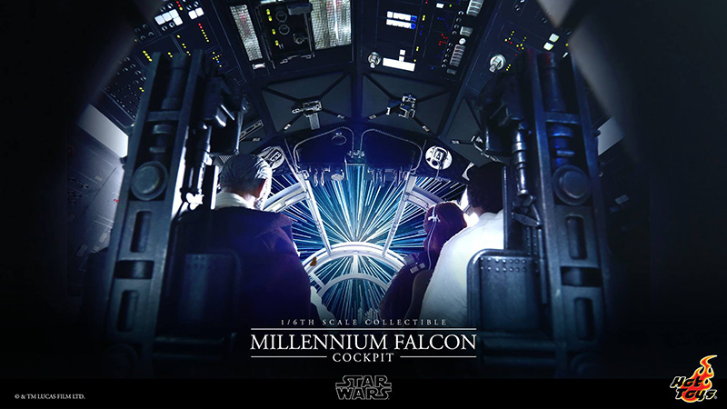 Hot Toys Millennium Falcon Cockpit Preview