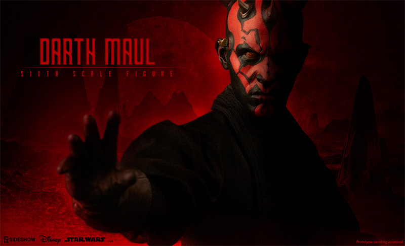 Sideshow Darth Maul Preview