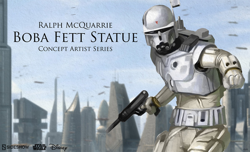 Sideshow McQuarrie Boba Fett Statue Preview