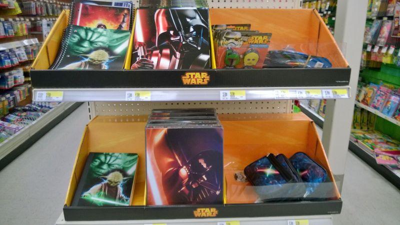 Star Wars Back to School Display