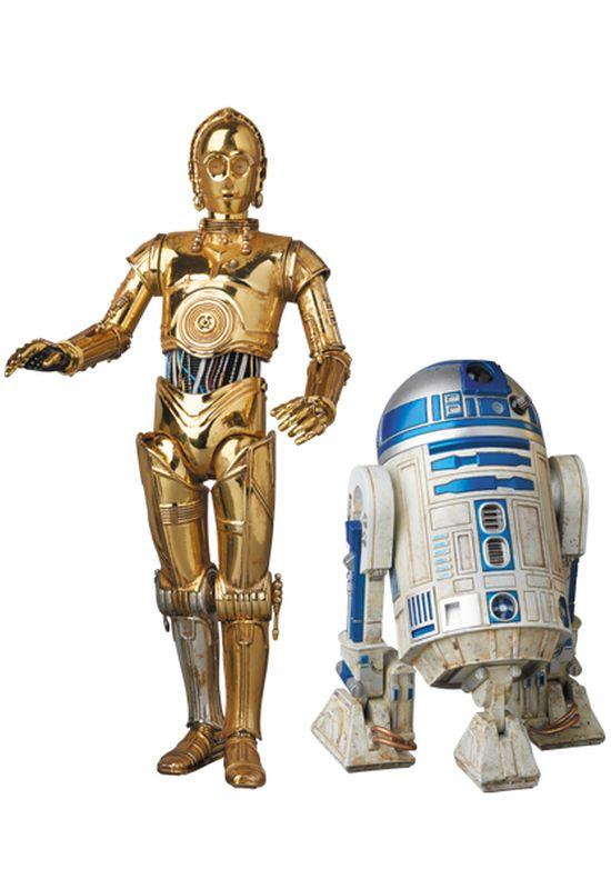 Medicom Toy MAFEX C-3PO R2-D2