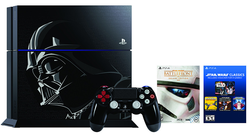 Sony PS4 Darth Vader