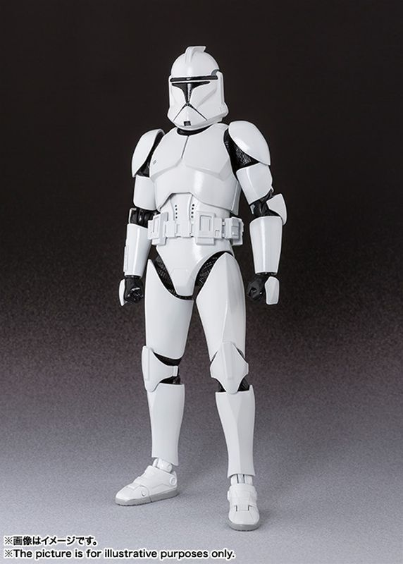 Tamashii Nations SH Figuarts P1 Clone Trooper
