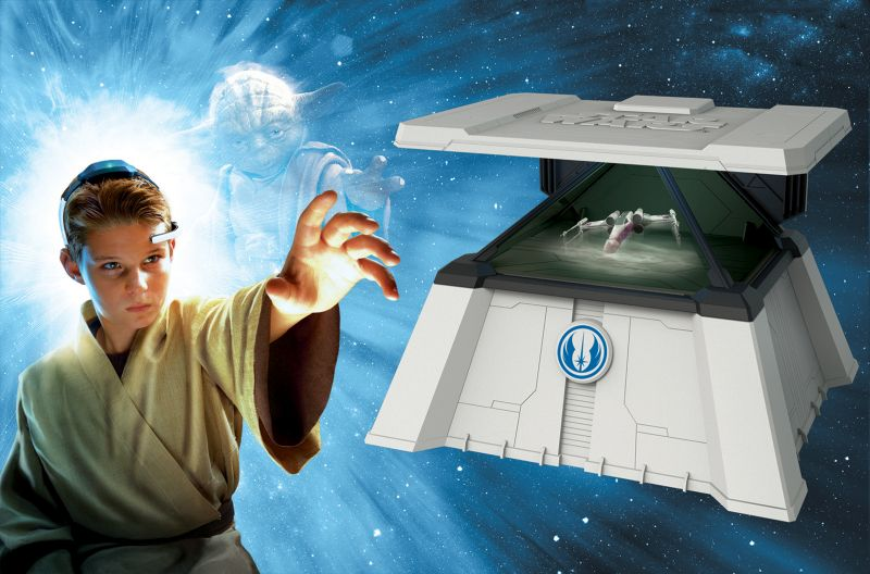 Uncle Milton The Force Trainer II Hologram Experience