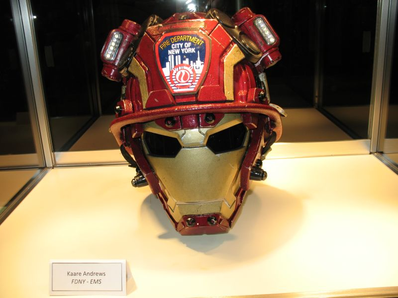 FDNY Foundation Charity Helmets NYCC 2015