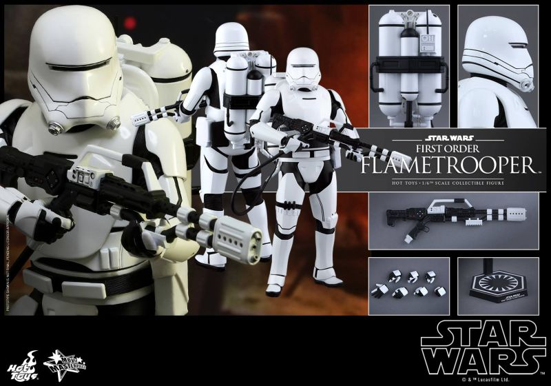 Hot Toys TFA First Order Flametrooper