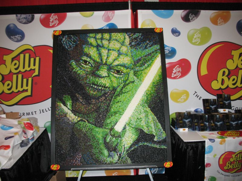 Jelly Belly NYCC 2015 Yoda Mural