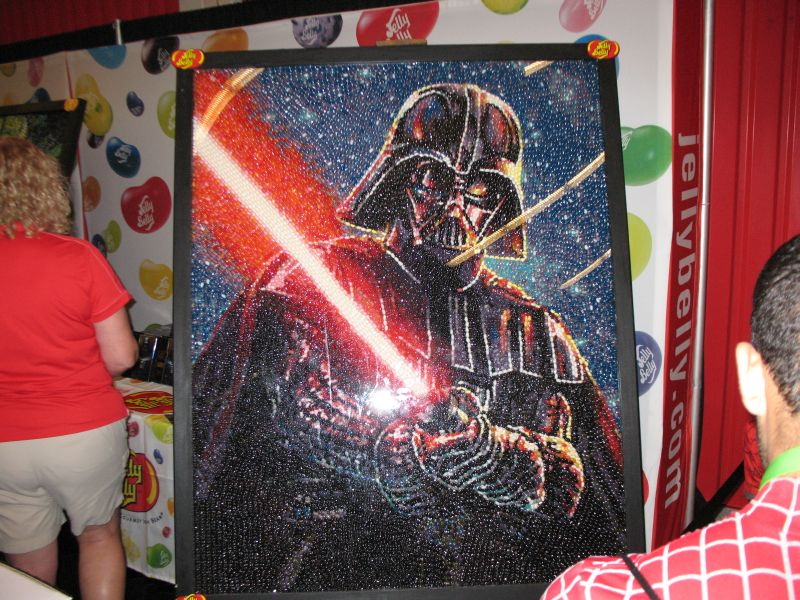 Jelly Belly NYCC 2015 Darth Vader Mural