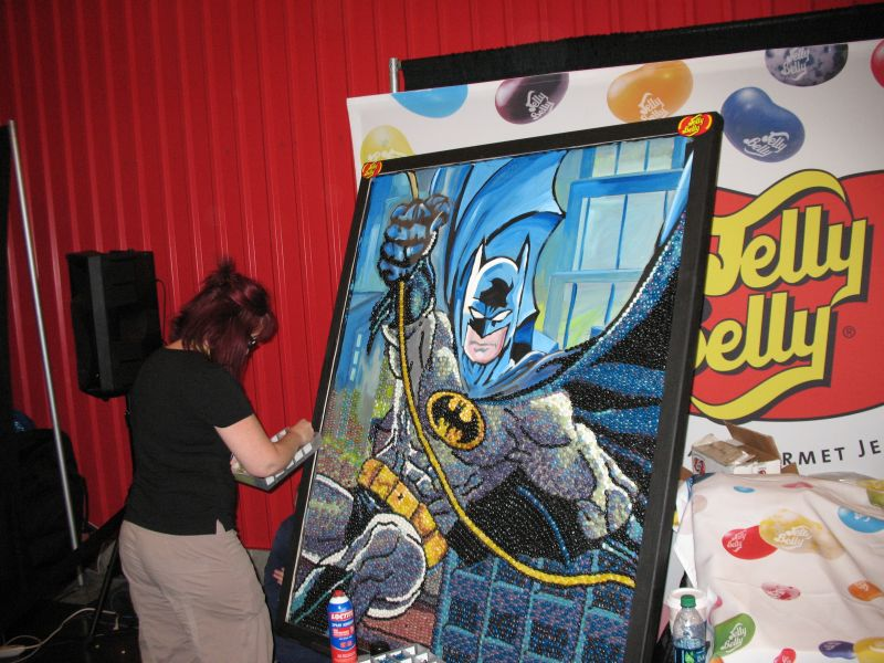 Jelly Belly NYCC 2015 Batman Mural