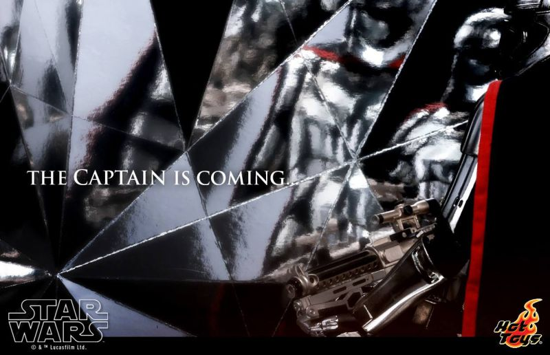 Hot Toys Captain Phasma Teaser