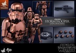 Hot Toys Copper Chrome Stormtrooper