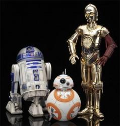 Kotobukia TFA ARTFX R2-D2 C-3PO BB-8
