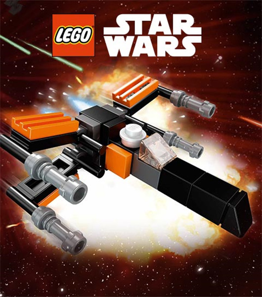 Lego TRU Poe X-Wing