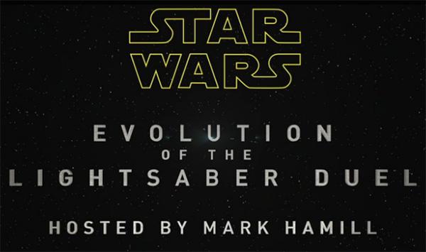 ESPN Star Wars Evolution of the Lightsaber Duel