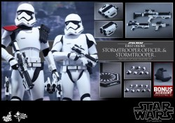 Hot Toys FO Stormtrooper Officer 2-pack