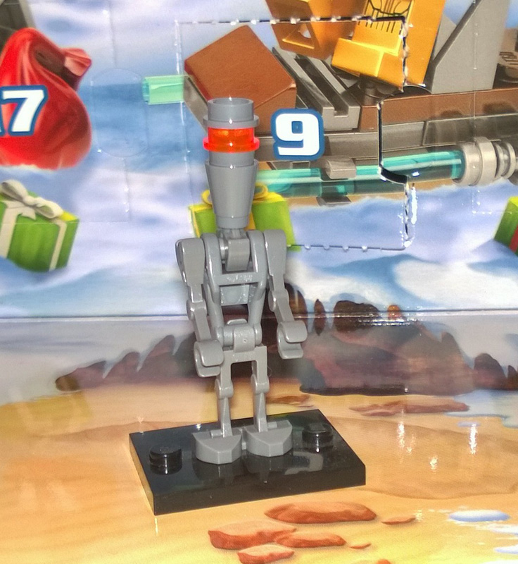 Lego SW Advent Calendar 75097 2015 Day 13 IG-88