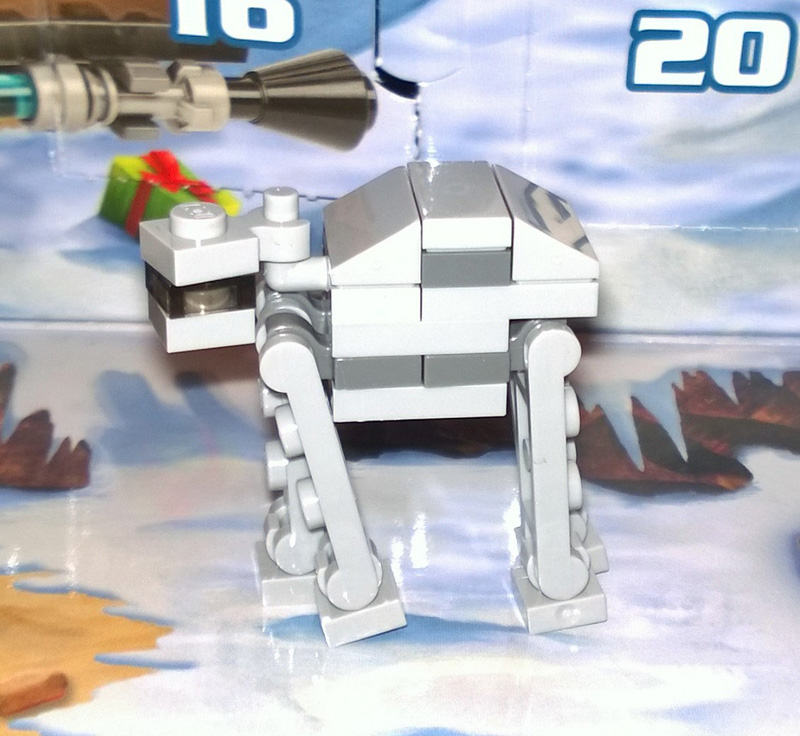 Lego SW Advent Calendar 75097 2015 Day 18 AT-AT
