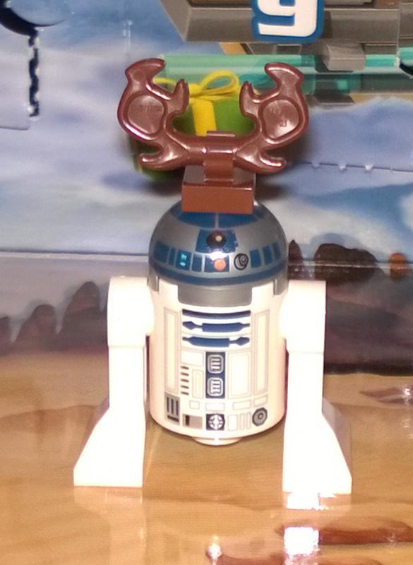 Lego SW Advent Calendar 75097 2015 Day 22 R2-D2