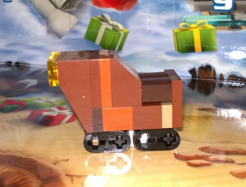 Lego SW Advent Calendar 75097 2015 Day 5 Sandcrawler
