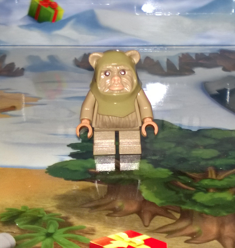 Lego SW Advent Calendar 75097 2015 Day 8 Ewok
