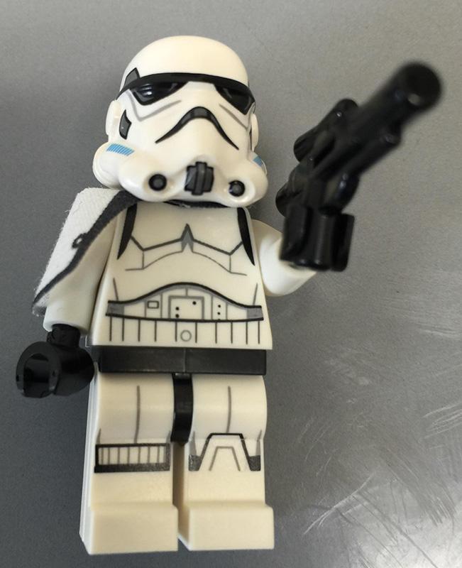 Lego Stormtrooper Sergeant Minifigure