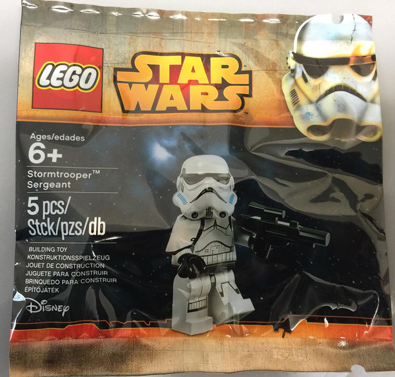 Lego Stormtrooper Sergeant Polybag