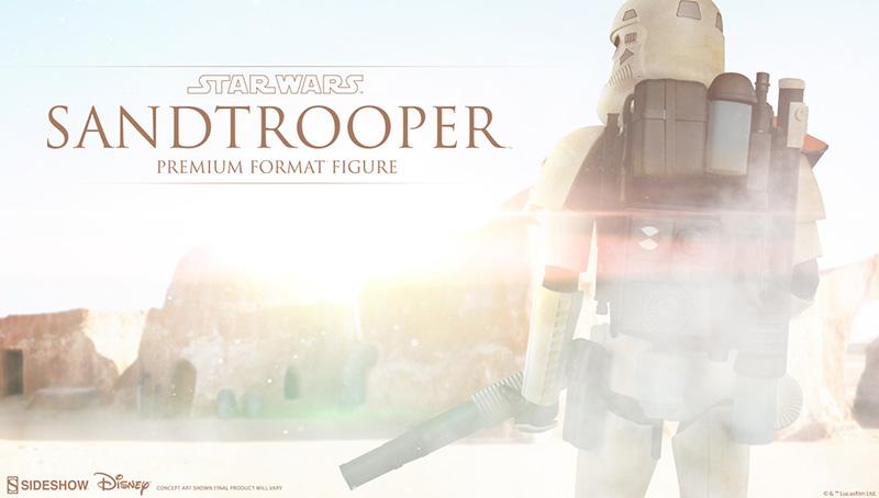 Sideshow PF Sandtrooper Teaser