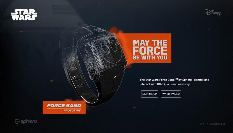 Sphero Force Band Teaser
