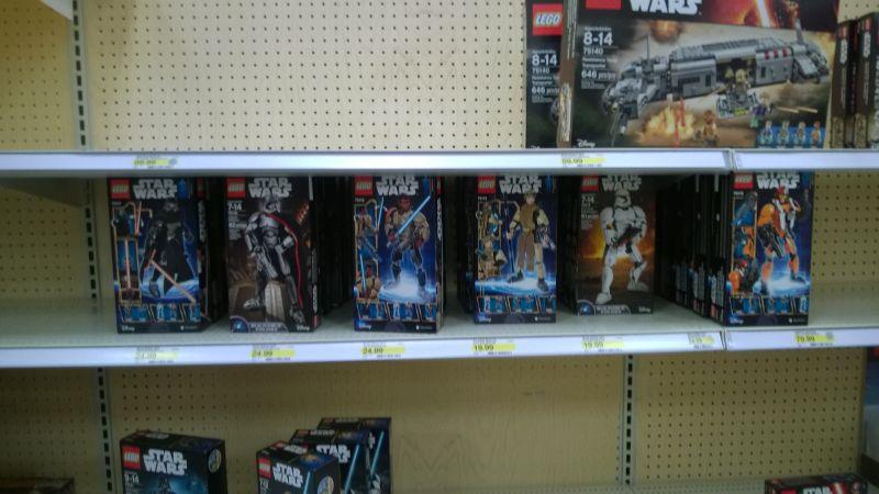 Target Star Wars 2016 Lego