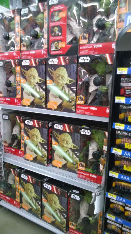 Walmart Legendary Yoda