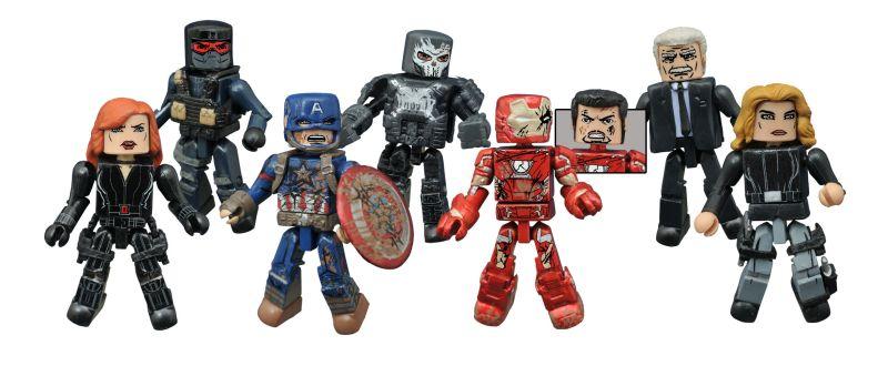 Captain America Civil War Minimates