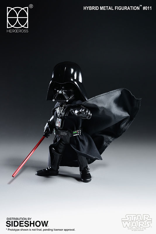 Herocross Hybrid Metal Figuration Darth Vader
