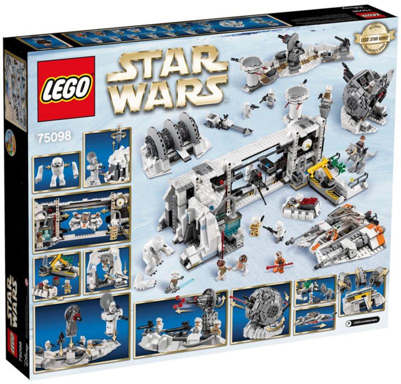 Lego 75098 Assault on Hoth Box Back