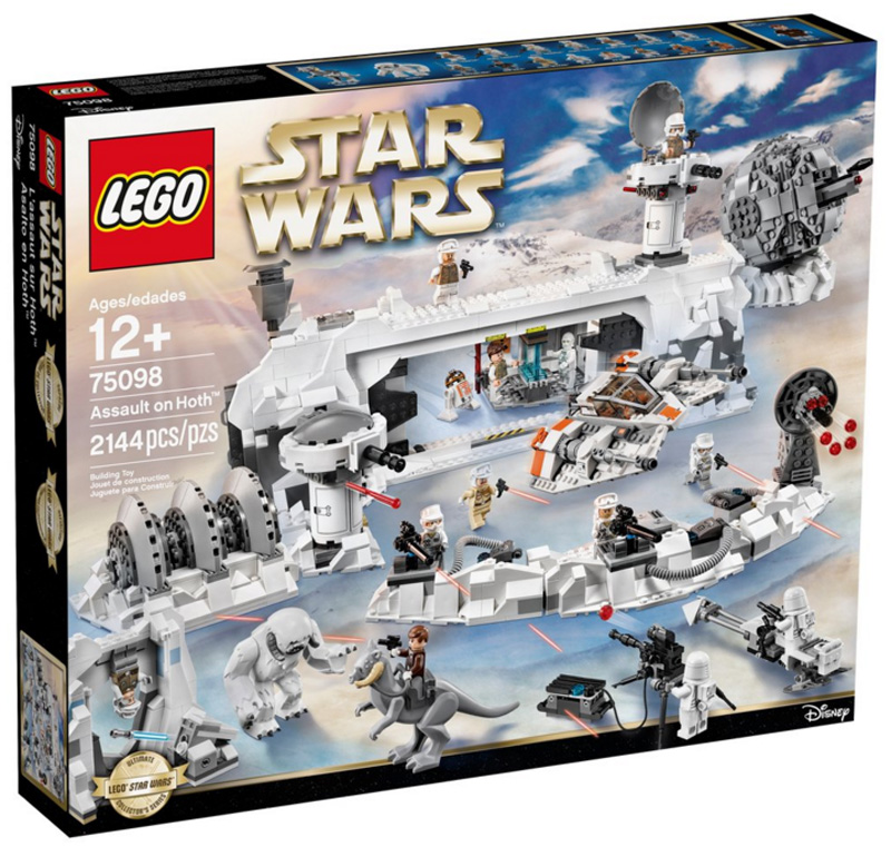 Lego 75098 Assault on Hoth Box Front