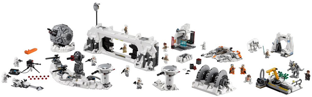 Lego 75098 Assault on Hoth Loose