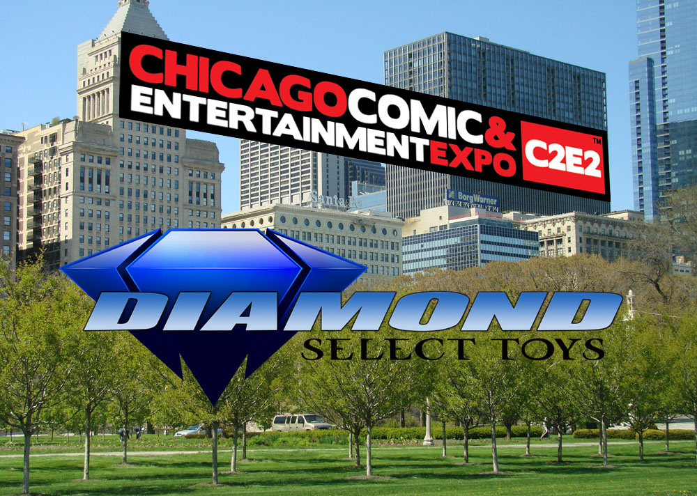 Diamond Select Toys C2E2 Header