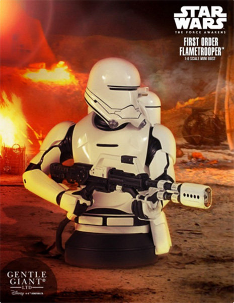Gentle Giant Flametrooper Mini Bust